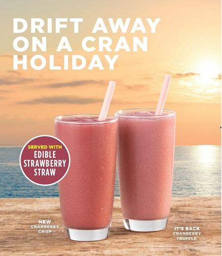 Green Nature Marketing Brings SORBOS Edible Straws to Tropical Smoothie Café