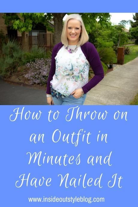 How to Throw on an Outfit in Minutes and Have Nailed It