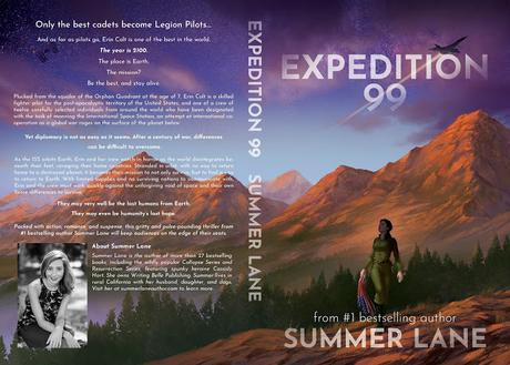 SCI-FI SUSPENSE NOVEL COMING SPRING 2021: EXPEDITION 99 (COVER REVEAL + BOOK INFORMATION)