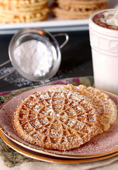 Pizzelle Italian Waffle Cookies