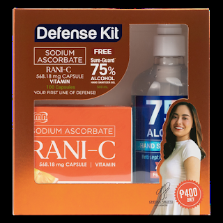 Give your family the added protection with Rani-C Limited edition Rani-C defense kit available now