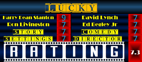Lucky (2017) Movie Review