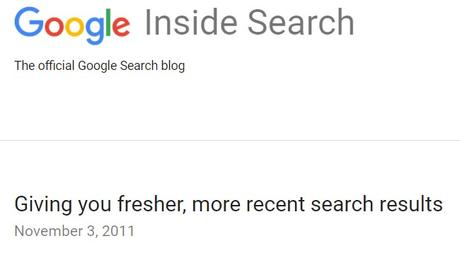 Google's Need For Freshness Sours Search Results