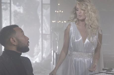 "Watch: Carrie Underwood and John Legend ""Hallelujah"" Music Video"
