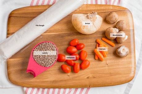 Vegan Wellington with Lentils and Mushrooms