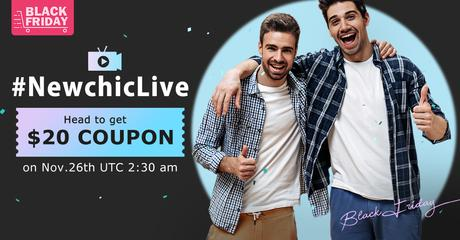 Newchic Live Stream 2020 Coupons