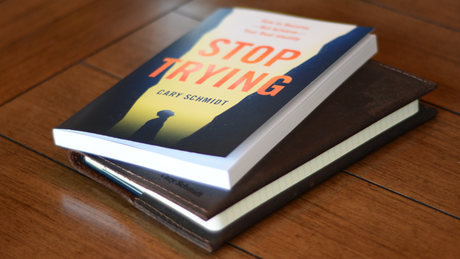 Introducing Stop Trying: How to Receive—Not Achieve—Your Real Identity.
