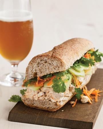 Turkey Banh Mi Sandwich + Thanksgiving Leftovers Recipes