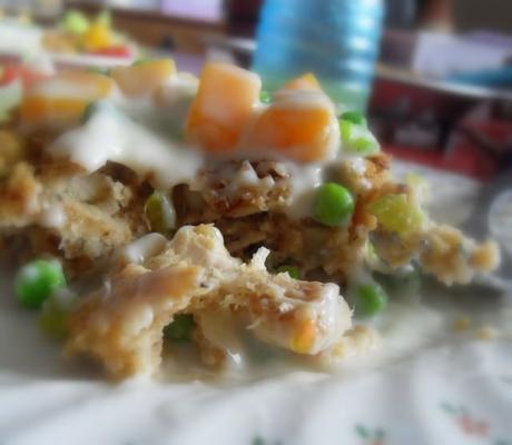 Turkey & Stuffing Pie