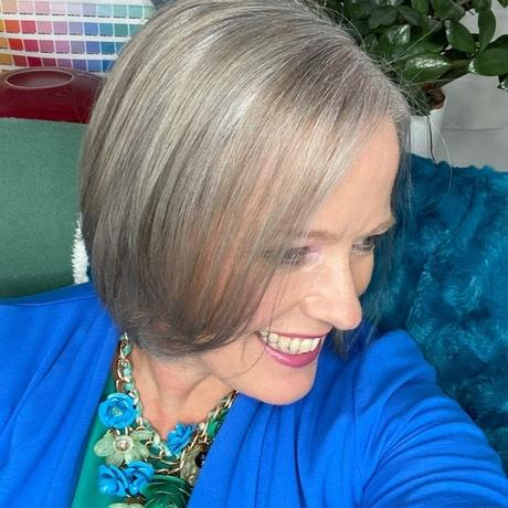 Going grey from blonde