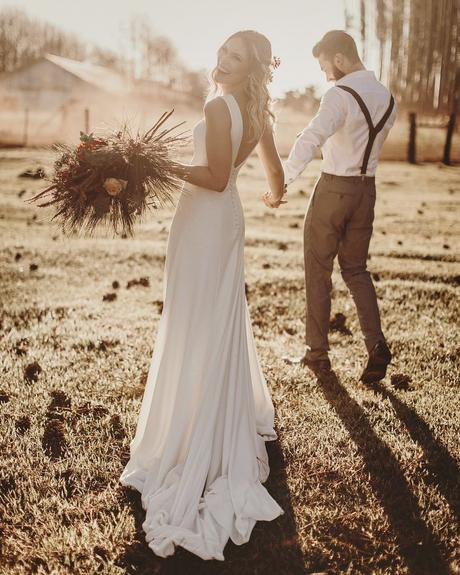 rustic wedding dresses simple low back sheath rustic rodrigovipych