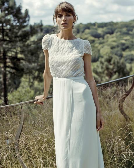 rustic wedding dresses sheath with cap sleeves lace lauredesagaza