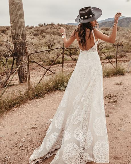 rustic wedding dresses a line backless with straps barn style dreamersandlovers
