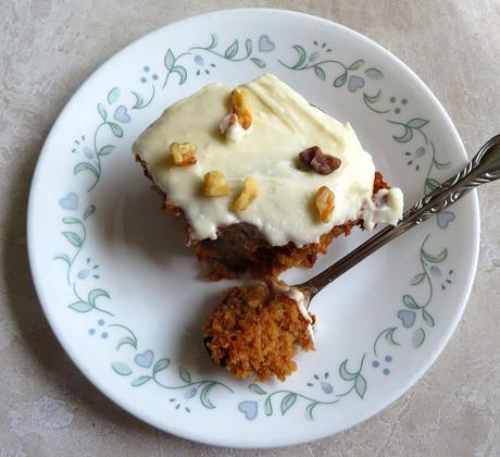 Brown Butter Frosted Applesauce Spice Cake