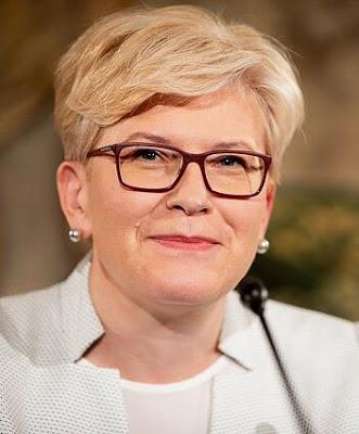 Ingrida Šimonytė ~ becomes Prime Minister of Baltic Country