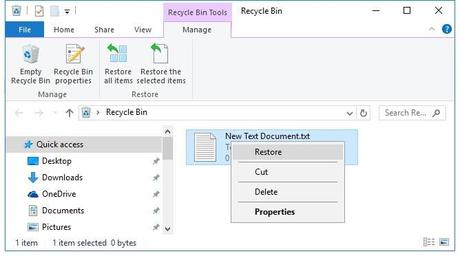 Why Files Get Missing or Deleted from the Recycle Bin