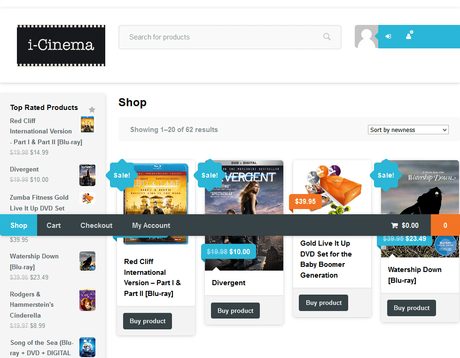 iCinema.com sold for $50,000 in 2011 it goes for just 20% of that in 2020