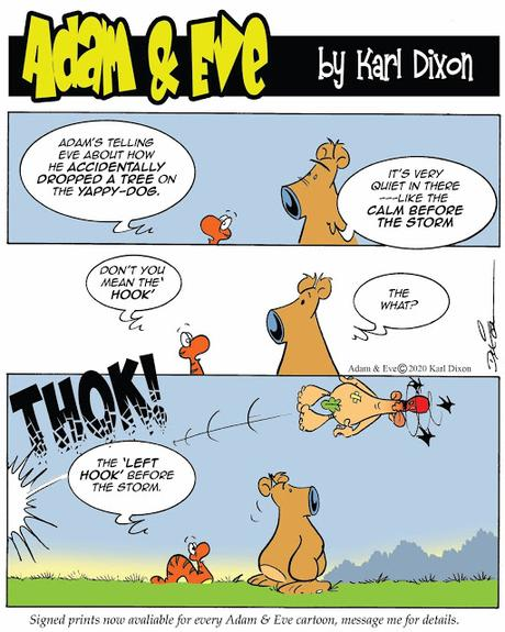 The Rise & Fall of the Yappy-Dog- An Adam & Eve Mini Story.