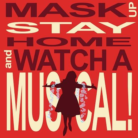 Nina West Mask up, Stay home, and Watch a Musical