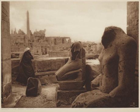 Early photography: Karnak – The Amon Temple – Rudolf Lehnert / Ernst Landrock