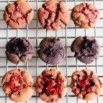 Three berries flavoured cookies | Kid's friendly | No eggs