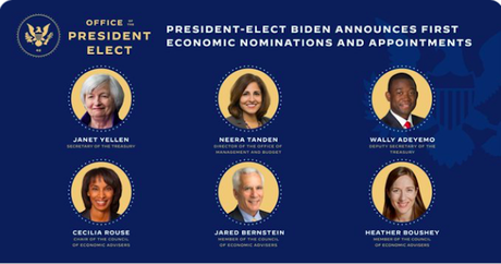 Biden Chooses Competent Professional For His Economic Team