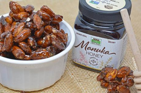 Honey Roasted Almond Clusters