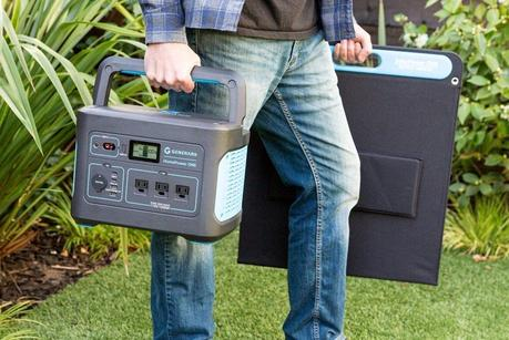 Generark HomePower One Portable Power Station and Solar Panel Review