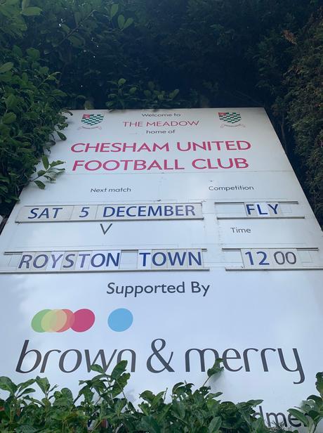 Chesham Utd 2 Royston Town 0