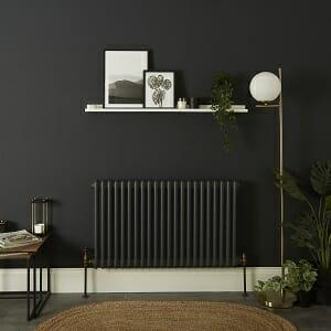 Clear radiator in a lounge