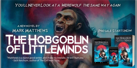 The Hobgoblin of Little Minds Publication Date, and Giveaways, Giveaways, Giveaways.