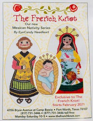 EyeCandy's Mexican Nativity Starts in January at The French Knot!