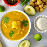 Colombian Ajiaco (Chicken and Potato Soup)