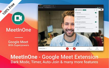 10 Must try Google Chrome extensions for Google Meet