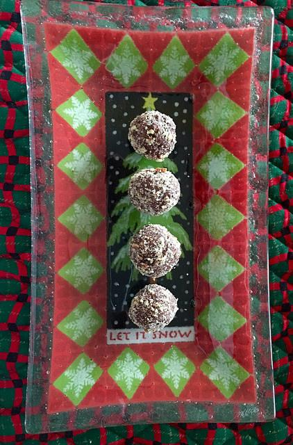 Southern Chocolate Bourbon Balls