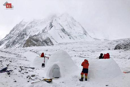 The Winter K2 Expeditions have Turned the Mountain into a Circus