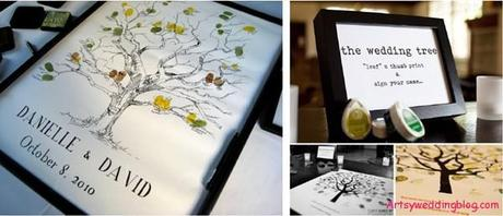 Make Your Mark– Intresting Guestbook Ideas For Your Big Day