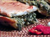 Erbazzone Savory with Spinach, Swiss Chard Pancetta from Parma, Italy