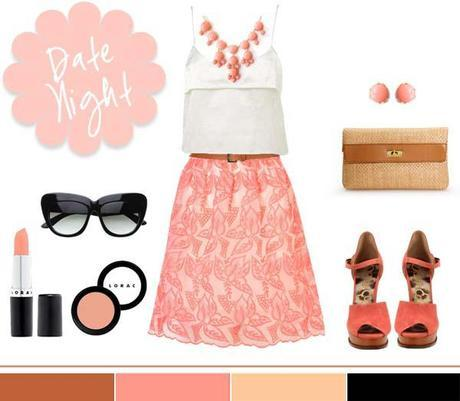 Coral + Lace…