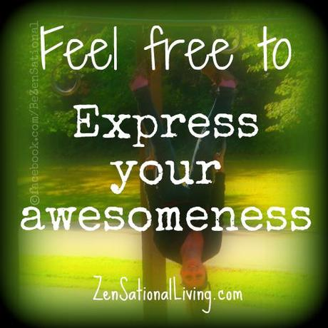 Feel free to express your awesomeness!