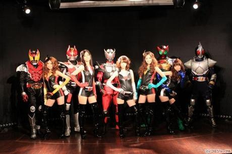Kamen Rider Girls: *Face-palm* What the funk is goin' on up in here?!!