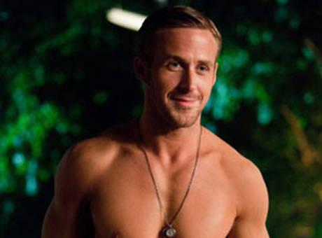 A shirtless Ryan Gosling is Cosmo's favorite to play Christian Grey