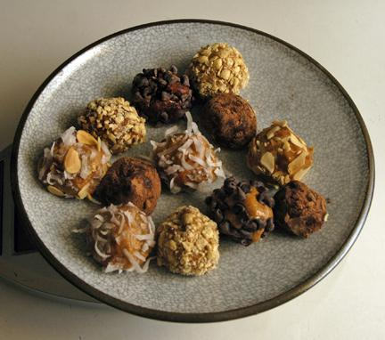Nut Butter Truffles and Chia Seed Granola