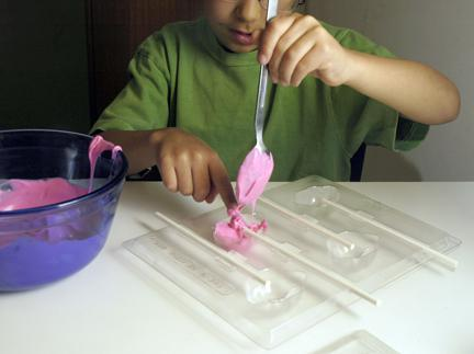 Chocolate Candy Making and Homemade Marshmallow Fluff