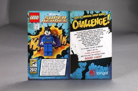 San Diego Comic Con '12: Lego Reveals Exclusive Bizarro and Phoenix Minifigures