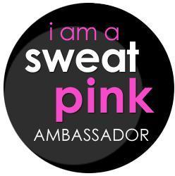 Fit Approach Sweat Pink Ambassador Badge