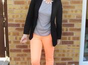 OOTD|| Primark Neon Jeans