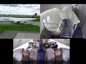 Lufthansa's Boeing 747-8: Metal Meets Cozy Warm Cabin Design
