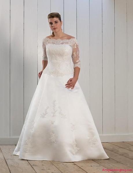 Choosing The Best Wedding Dress For A Short Plus Sized Woman