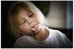 Young Girl Smoking